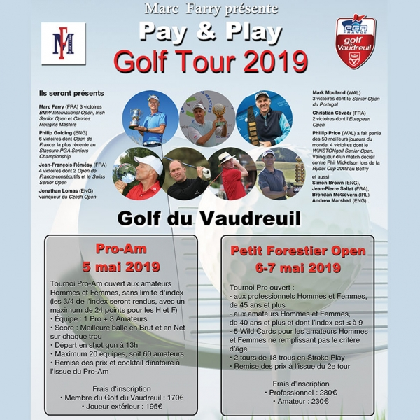 Petit Forestier Open Pay and Play Golf Tour 2019