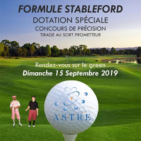 Tournoi de rentrée Astre au Golf PGA France du Vaudreuil.