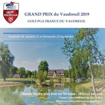 Grand Prix 2019 du Golf PGA France du Vaudreuil