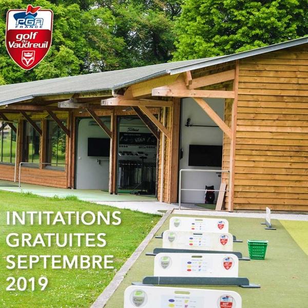 Initiations Golf rentrée 2019, Golf PGA France du Vaudreuil