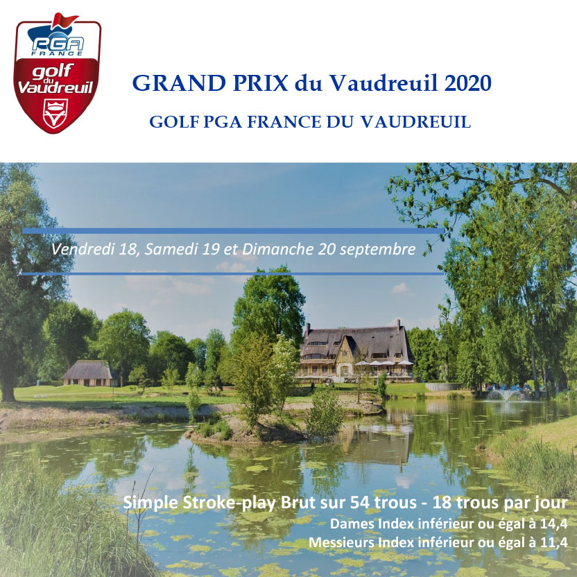 Grand Prix 2020 du Golf PGA France du Vaudreuil
