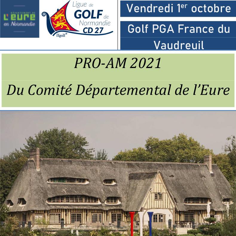 Pro-am du Comité départemental de l'Eure 2021